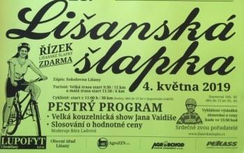 Lišanská šlapka 2019